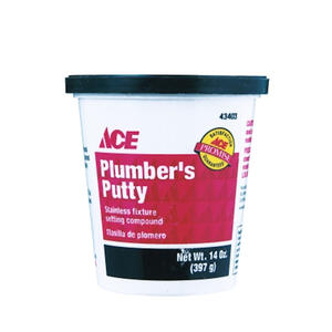 Ace  Plumbers Putty  14 oz.
