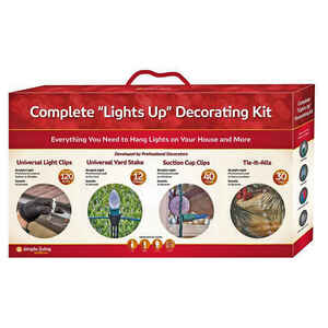Simple Living  Light Decorating Kit  Assorted