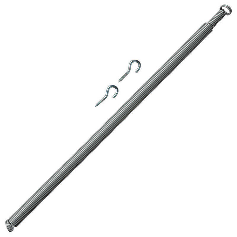 Ace  0.5 in. Dia. x 18.5 in. L Zinc-Plated  Metallic  Zinc  Door Spring