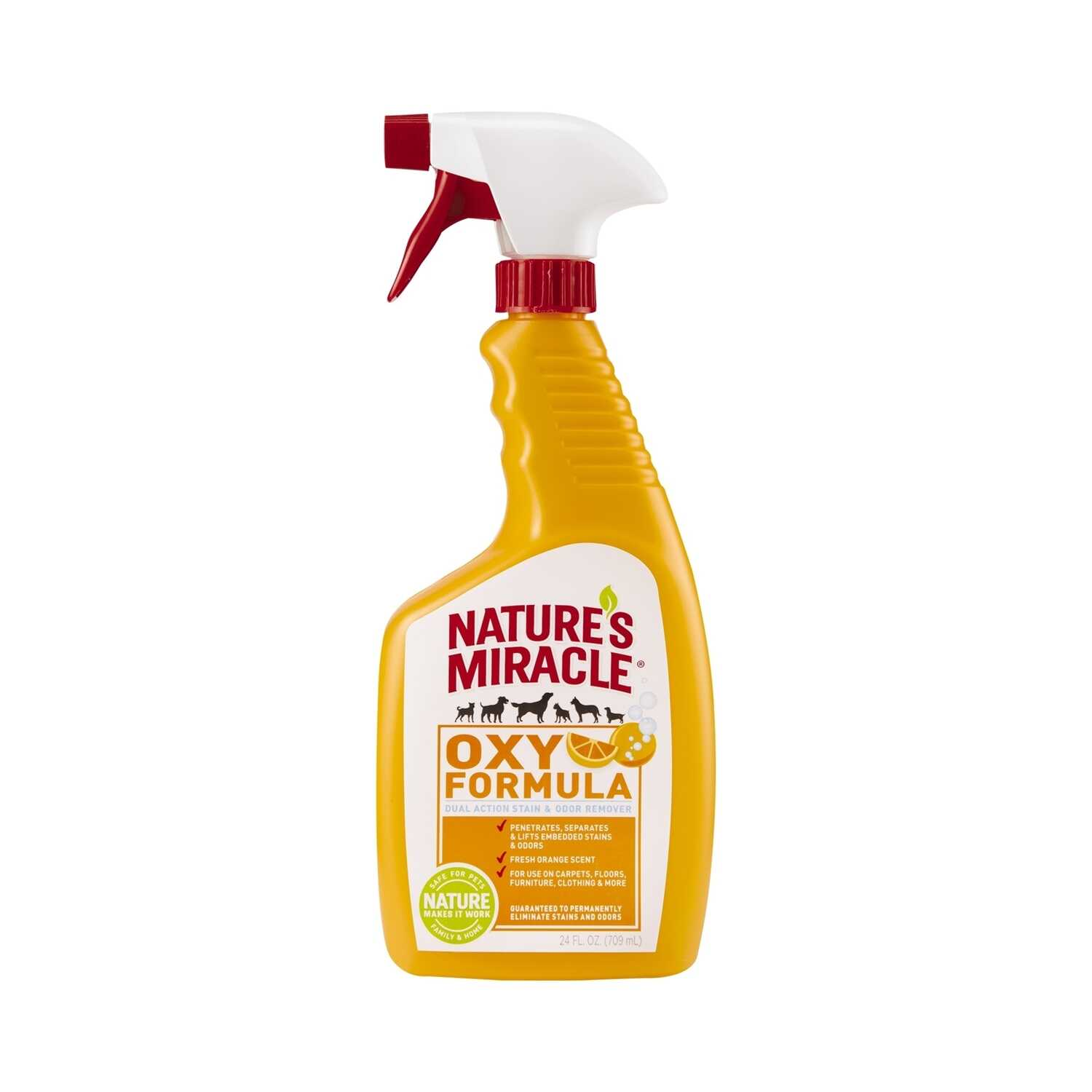Nature's Miracle  Citrus Scent Stain and Odor Remover  32 ounce oz. Liquid
