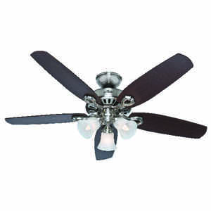 Hunter Fan  52 in. 5 blade Indoor  Brushed Nickel  Ceiling Fan