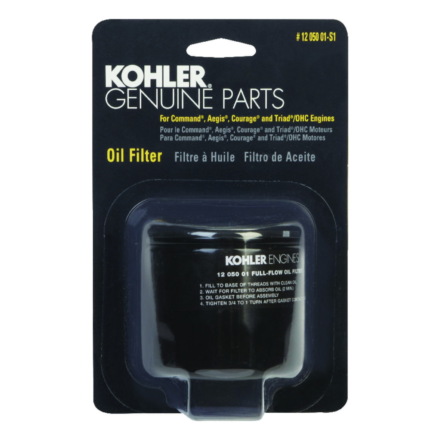Kohler  Sears  Oil Filter