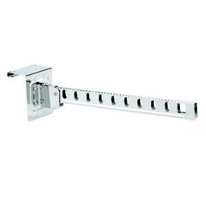 Whitmor  16-1/2 in. L x 3-1/2 in. W x 2-7/8 in. H Steel  1  Over The Door Hanger Holder
