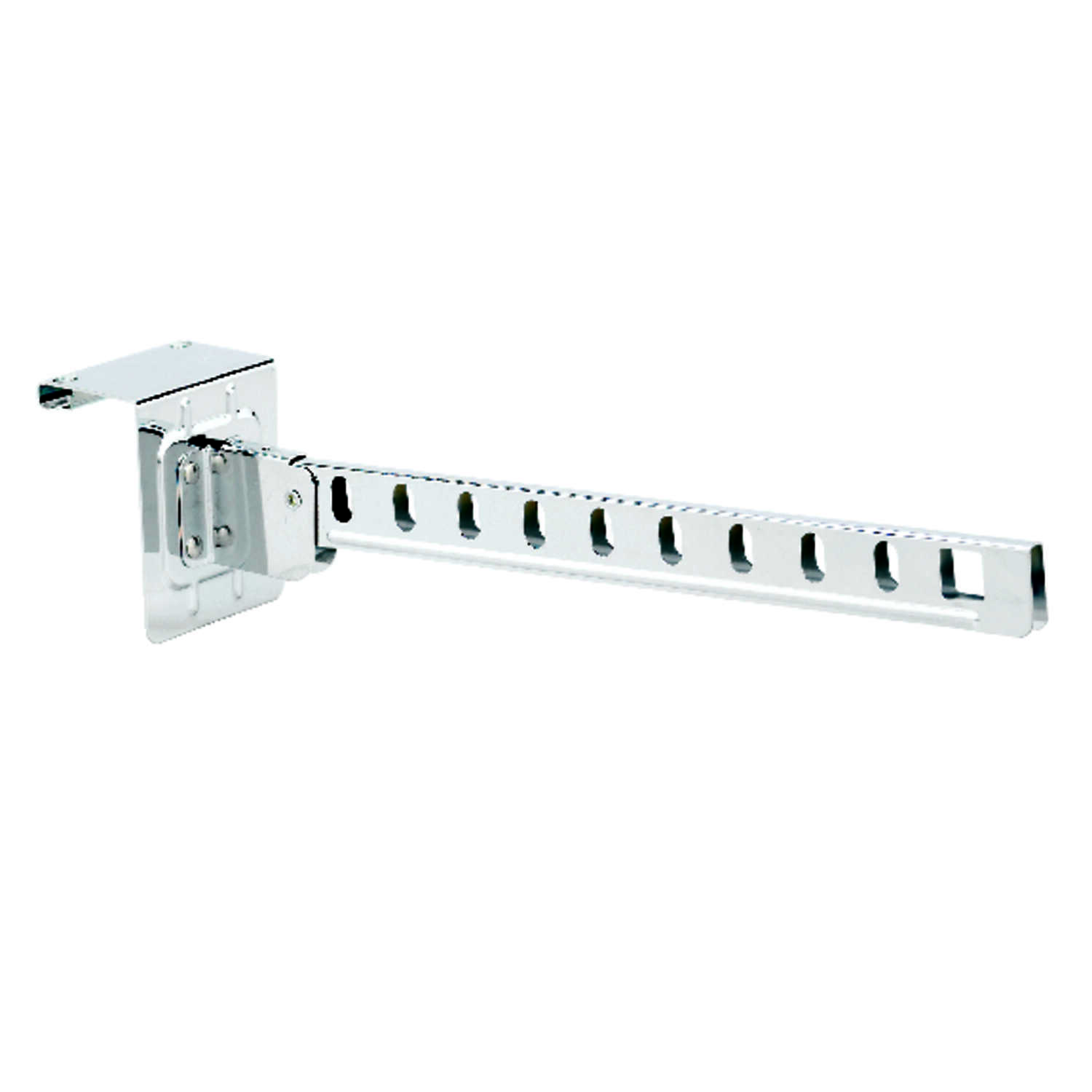 Whitmor  2-7/8 in. H x 3-1/2 in. W x 16-1/2 in. L Steel  Over The Door Hanger Holder  1 pk