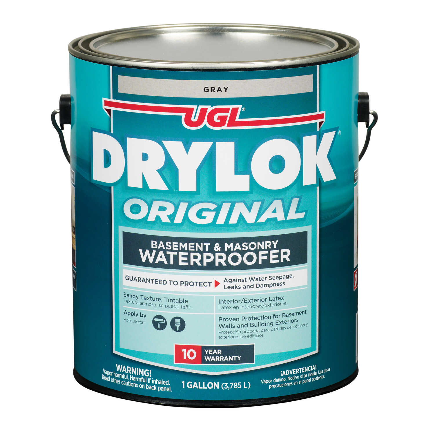 Drylok  Low Gloss  Gray  Latex  Waterproof Sealer  1 gal.