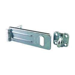 Master Lock  Zinc-Plated  Hardened Steel  6 in. L Hinge Hasp