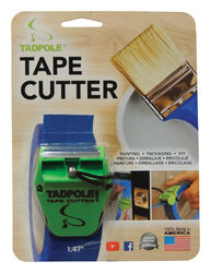 Tadpole  1-1/2 in. W x 2 inch  L Tape Cutter  Green