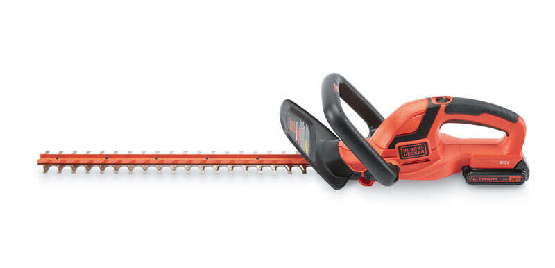 Black and Decker  22 in. L 20 volt Hedge Trimmer