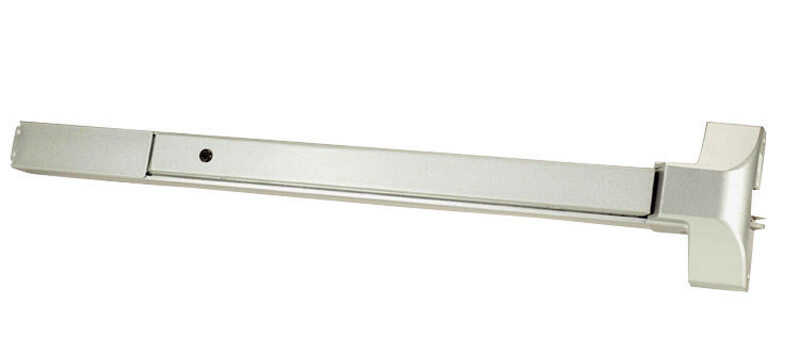 Tell  Satin  Silver  Aluminum  Commercial Exit Device  1 pk