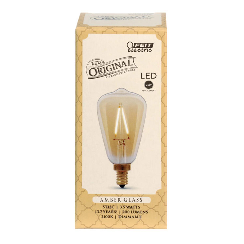 E12 Base G40 Globe Wax Melt Burner Warmer Bulbs  Warm Yellow 220V 25Watt 25W