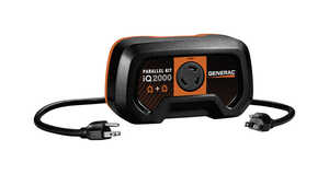 Generac  iQ2000  1 outlets Inverter Parallel Kit  Black