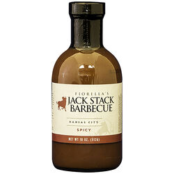 Jack Stack Barbecue  Kansas City Spicy  BBQ Sauce  18 oz.