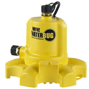 Wayne  Waterbug  Thermoplastic  Utility Pump  1/6 hp