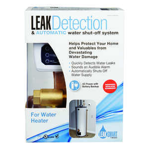 LeakSmart by Waxman  3/4 in. FIP  Dia. x 3/4 in. Dia. MIP  Brass  Leak Detection System