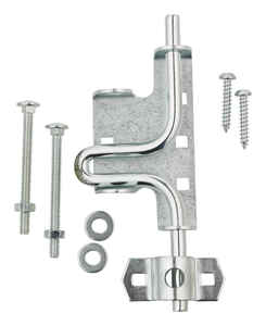Ace  10.52 in. H x 4.75 in. W x 1.22 in. L Zinc-Plated  Metallic  Zinc  Slide Bolt Gate Latch