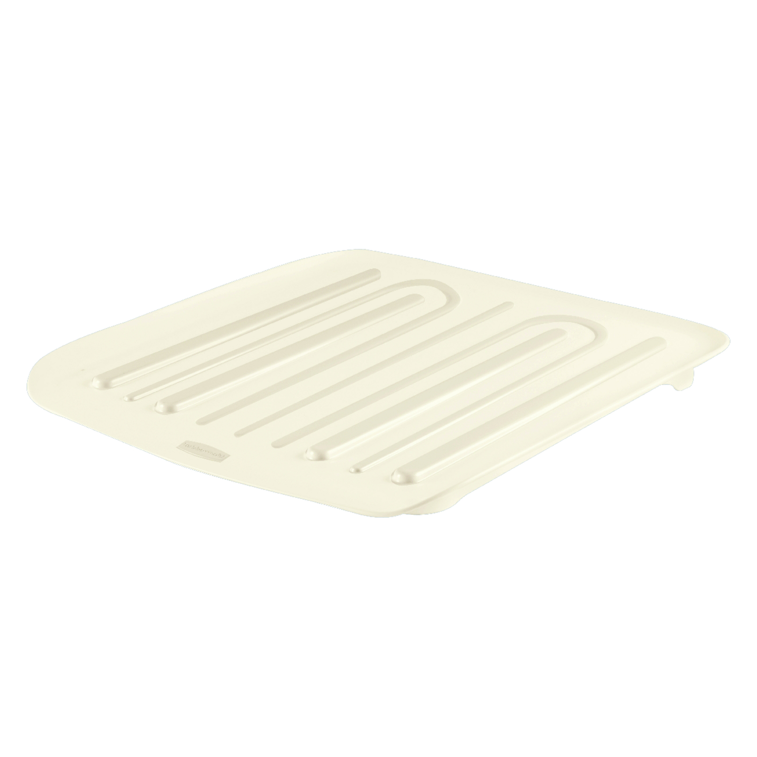Rubbermaid  14.3 in. L x 15.3 in. W x 1.3 in. H Plastic  Dish Drainer  Bisque