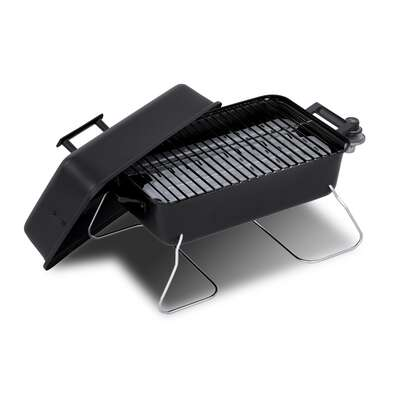 Char-Broil 1 burner Liquid Propane Portable Grill Black