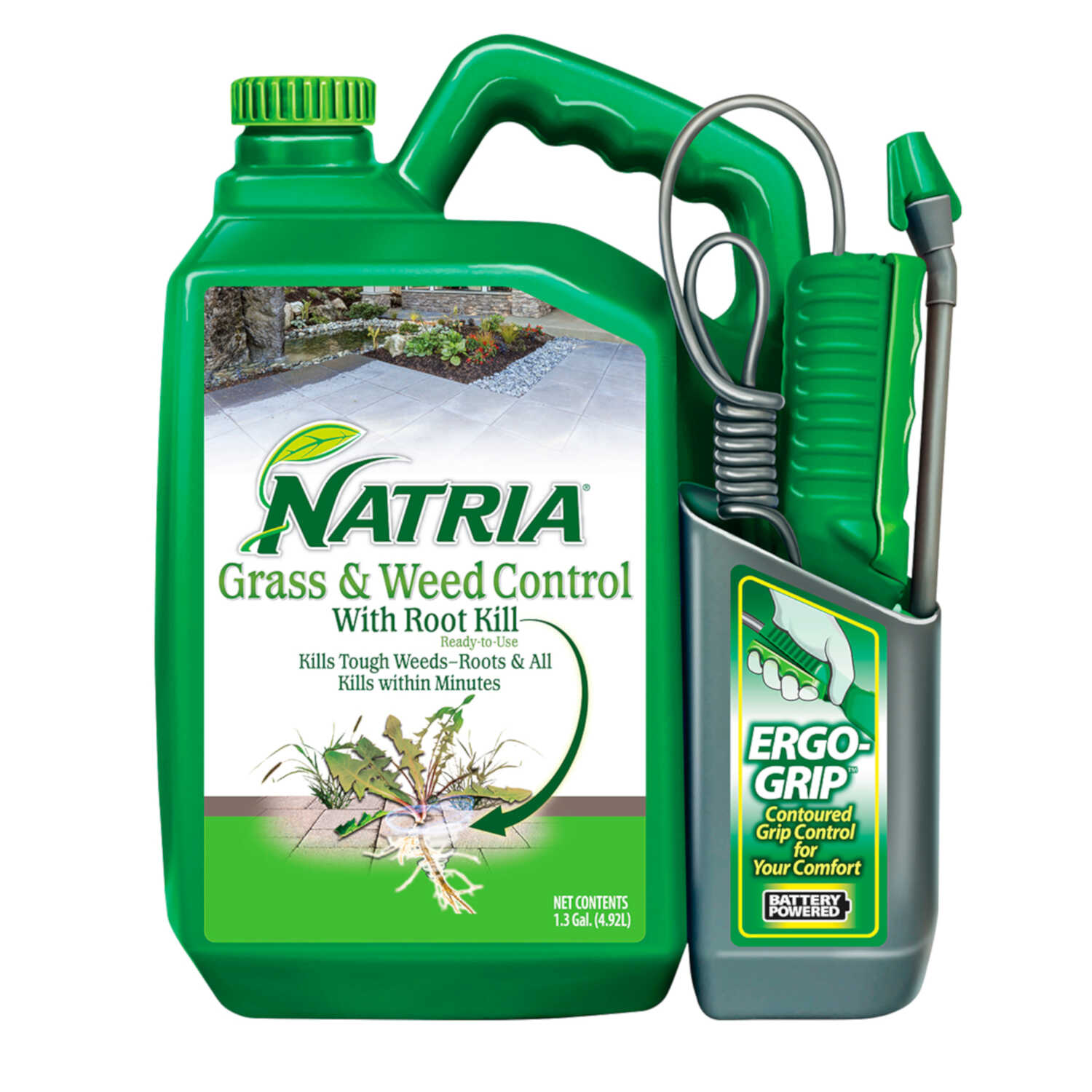 Natria  RTU Liquid  Grass and Weed Control  1.3 gal.
