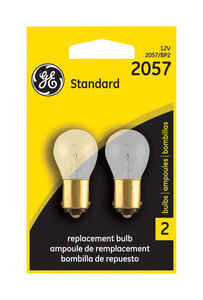 GE Lighting  12 volt Automotive Bulb  2  2057BP