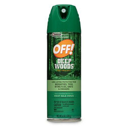 OFF!  Deep Woods  Insect Repellent  Liquid  For Biting Insects, Gnats, Flies, Mosquitoes/Other Flyin