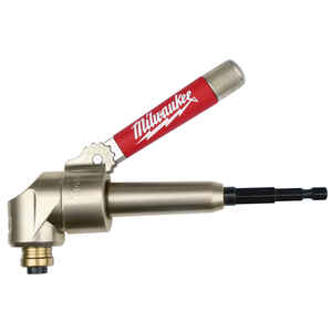 Milwaukee  1/4 in.  x 2 in. L Magnetic  1 pk Right Angle Drill Attachment  Steel