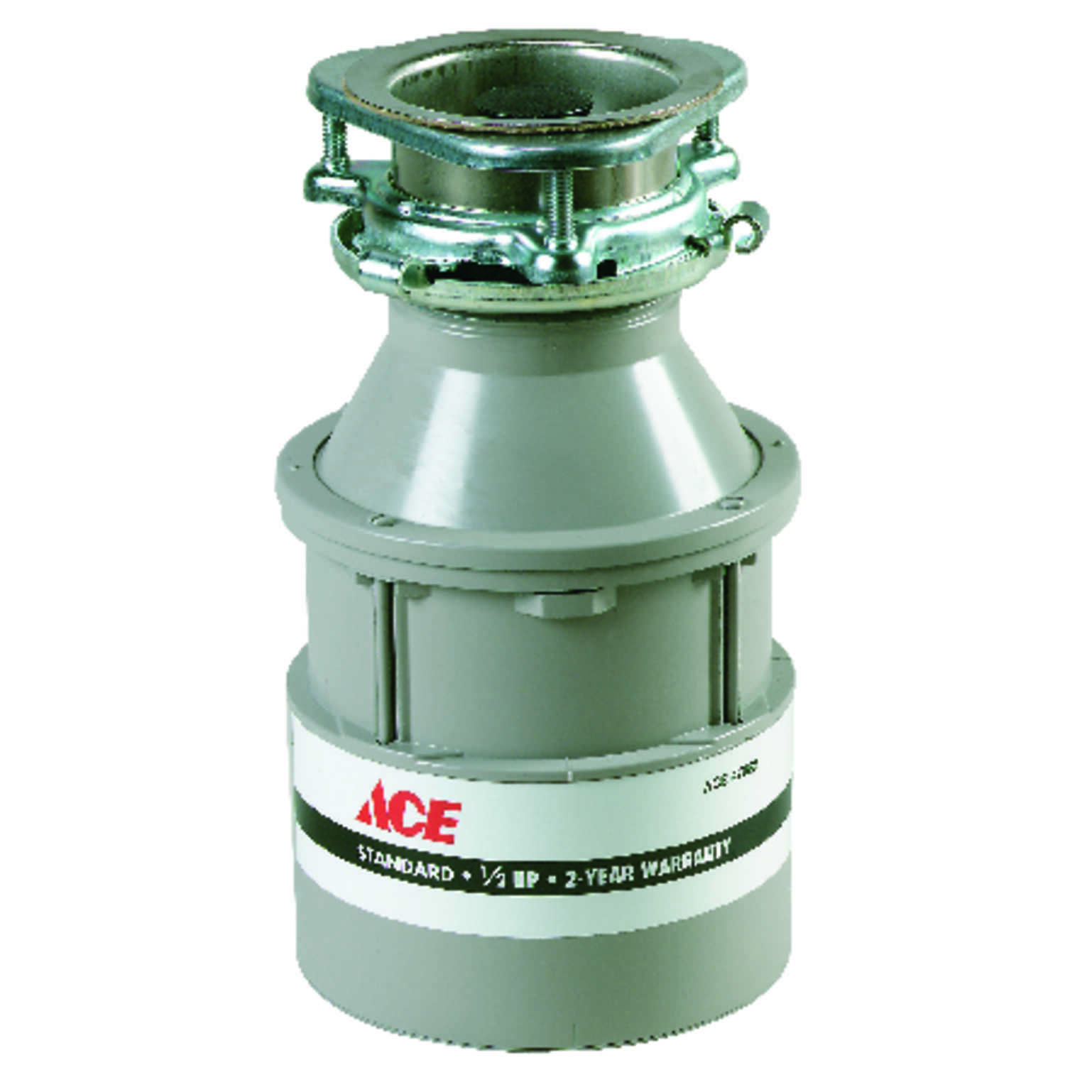 Ace  Garbage Disposal  1/2 hp White