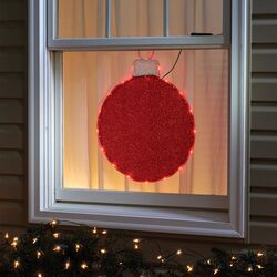 Celebrations  Ornament  Hanging Decoration  Red  Fabric  1 pk
