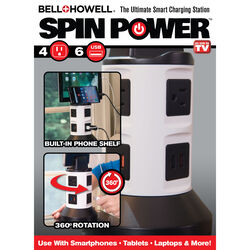 Bell + Howell Spin Power Charging Station 1 pk
