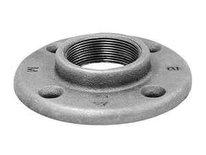 Anvil  1/2 in. FPT   Black  Malleable Iron  Floor Flange