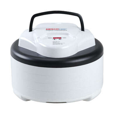 Nesco  White  Speckled Gray  7.3  Digital Top Mounted Dehydrator