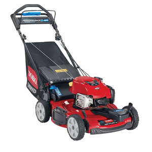 Toro  22 in. W 163 cc Self-Propelled  Mulching Capability Lawn Mower