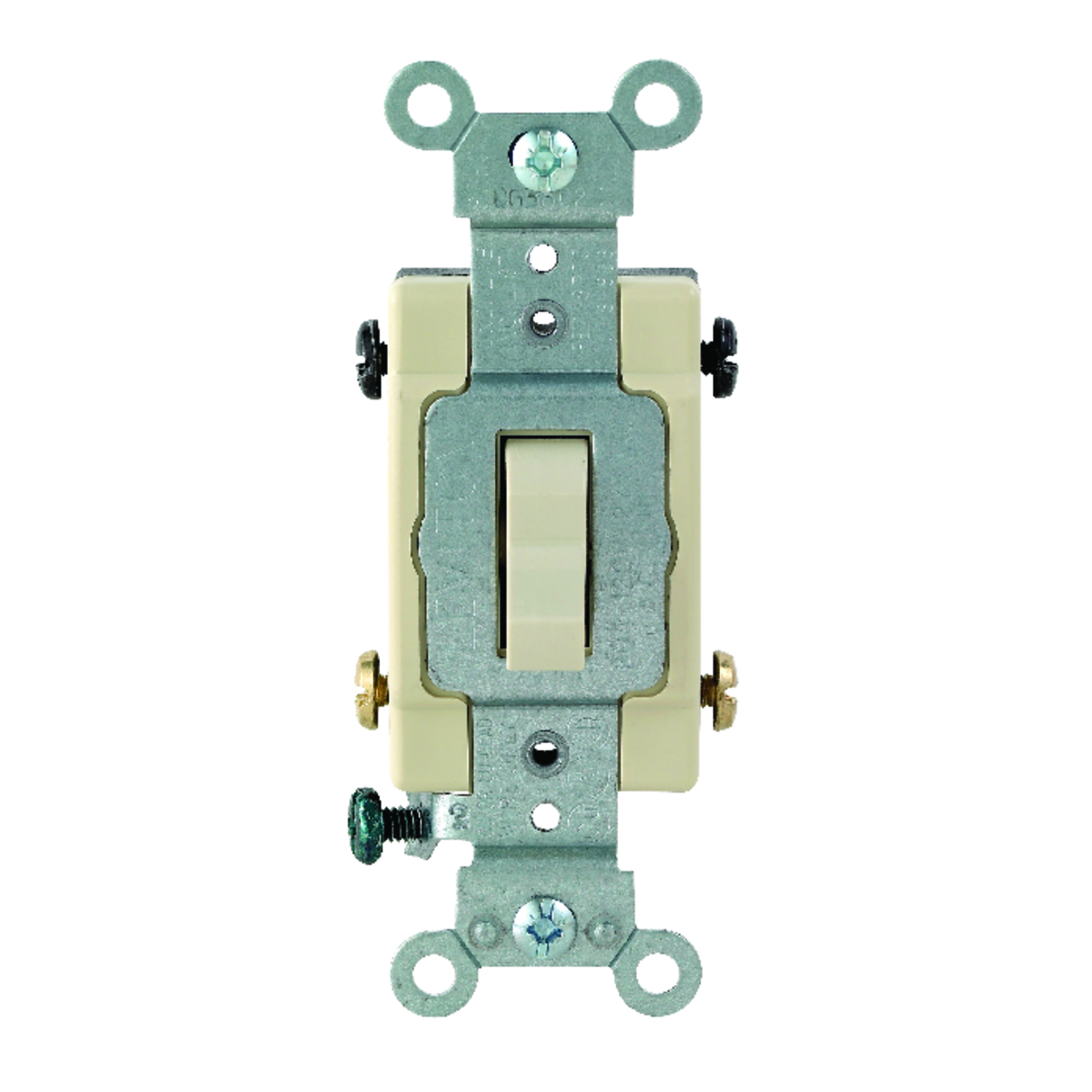 Leviton Commercial Toggle Ivory Switch 1 each 20 amps - Ace Hardware