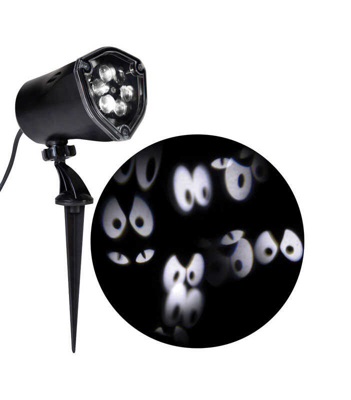 Gemmy  Halloween Eyes  Whirl-A-Motion Projector  11.8 in. H x 3.6 in. W x 5.3 in. L 1 pk