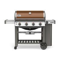 Deals on Weber Genesis II SE-410 Freestanding 4 Burners Copper Grill