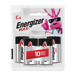 Energizer  MAX  C  Alkaline  Batteries  4 pk Carded
