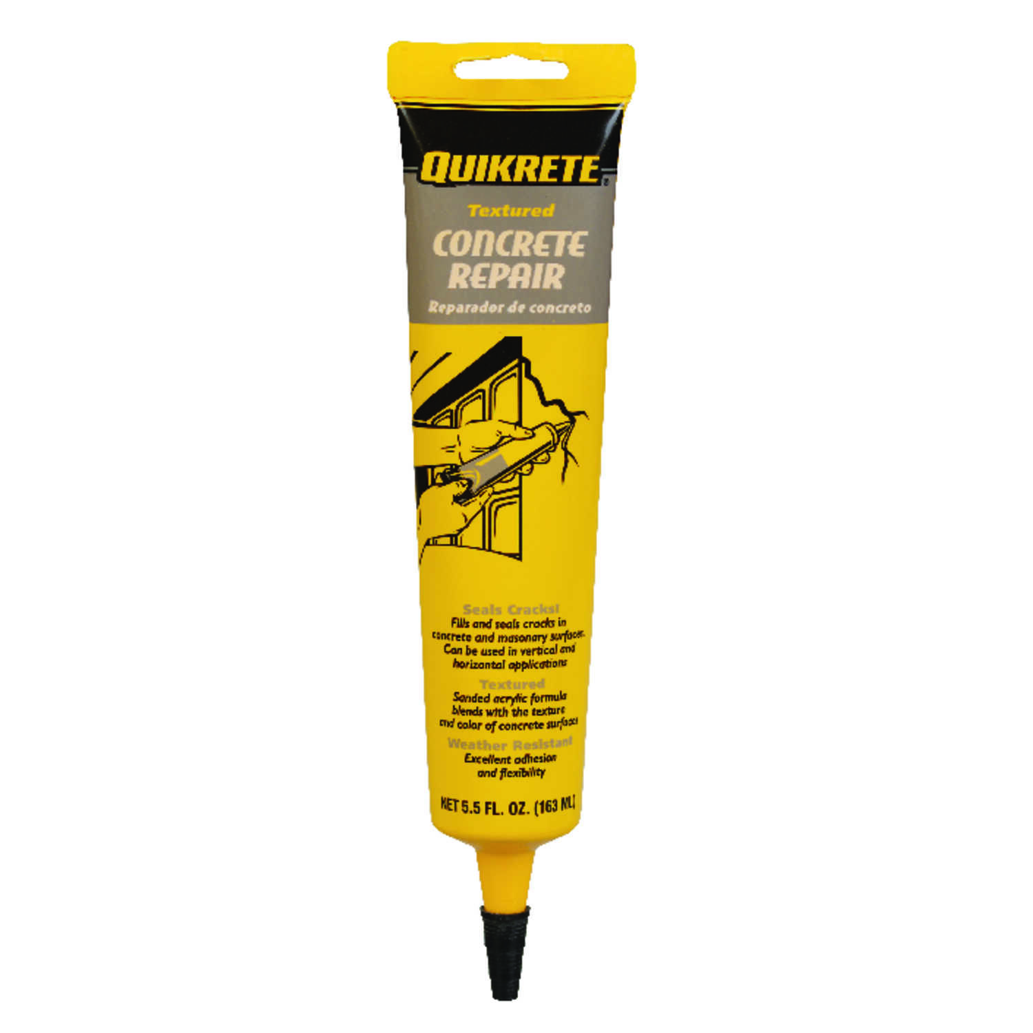 Quikrete  Textured  Concrete Repair  5.5 oz.