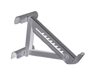 Qual-Craft  Aluminum  Silver  Ladder Jack  1