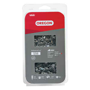 Oregon  Value Pack  16 in. 56 links Chainsaw Chain