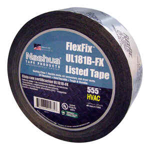 Nashua  1.89 in. W x 120 yd. L Black  Duct Tape