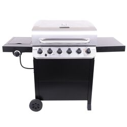 Char-Broil  Performance  Liquid Propane  Freestanding  Grill  Black  6