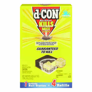 D-Con  Small  Bait Station  For Mice 4 pk