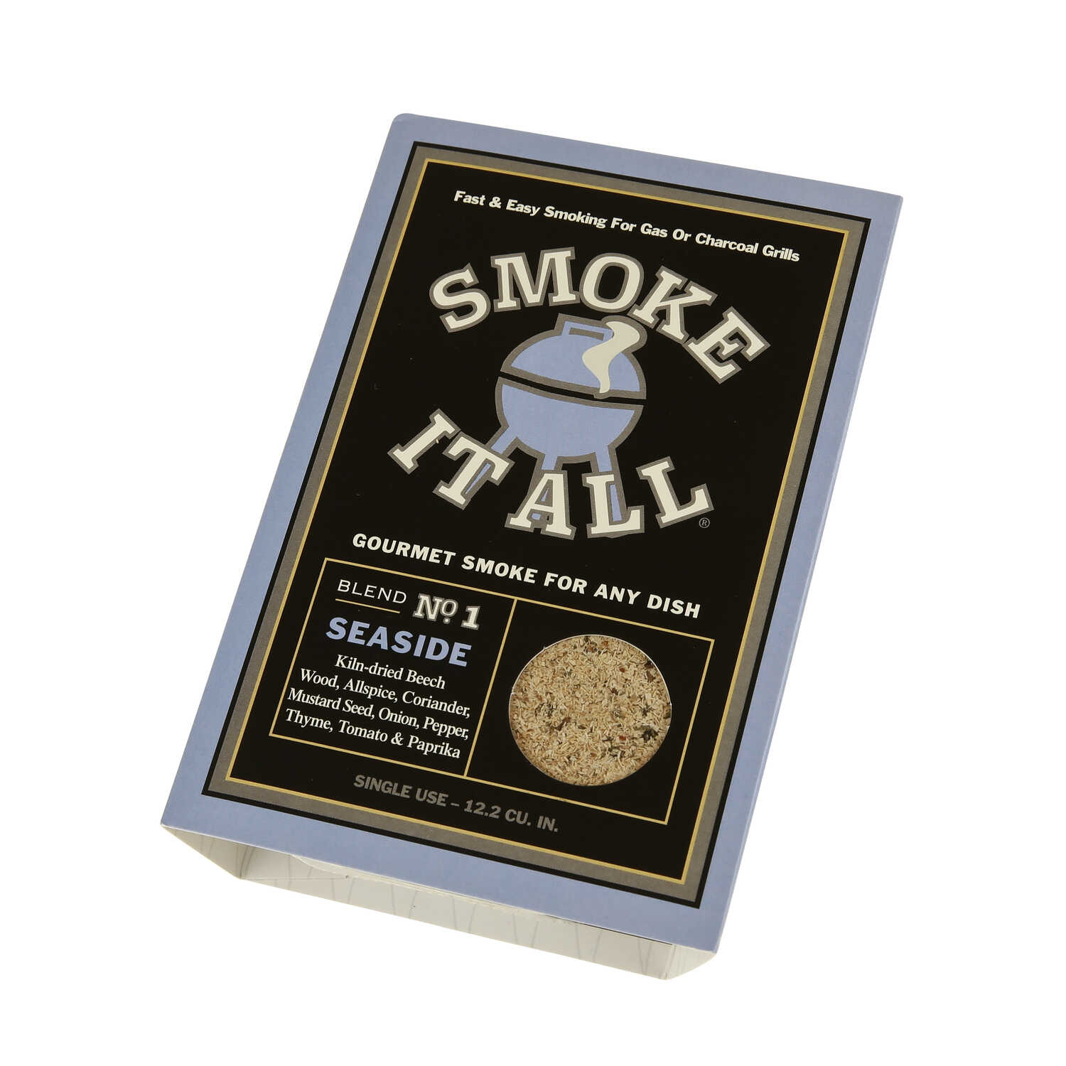 Smoke It All  Seaside  Onion And Mustard  Smoking Dust  3.1 oz.