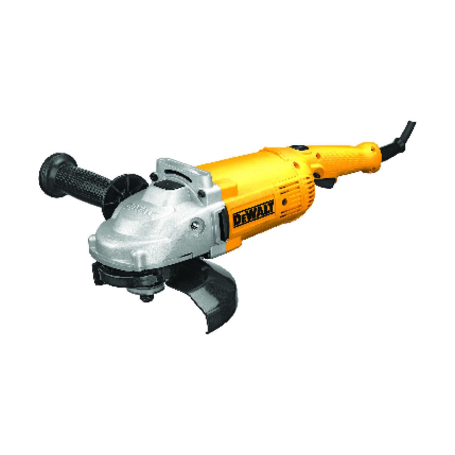 DeWalt  Corded  15 amps 7 in. Small Angle Grinder  Bare Tool  Paddle  8500 rpm