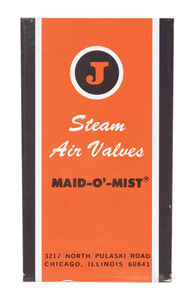 Maid-O-Mist  1/8 in. Steam Vent