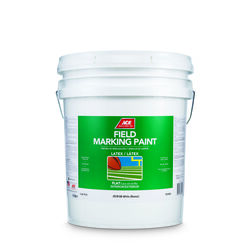 Ace  White  Field Marking Paint  5 gal.
