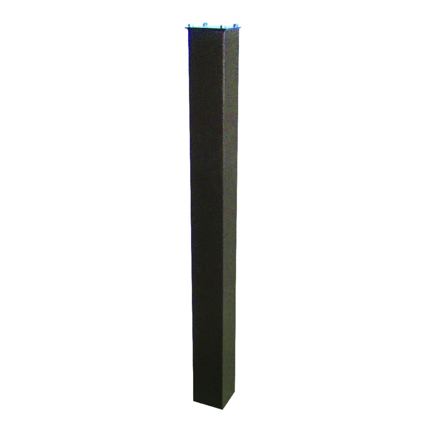 Mail Boss  4 in. H x 4 in. W x 43 in. D Powder Coated  Bronze  Steel  Mailbox Post
