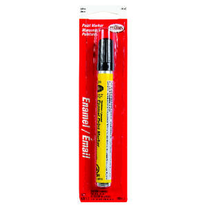 Testors  Gloss  Yellow  Enamel Paint Marker  0.3 oz.