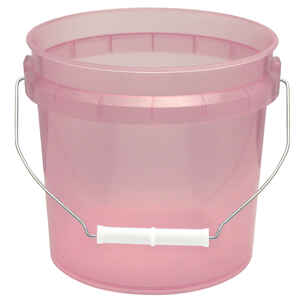 Leaktite  Red  1 gal. Plastic  Bucket