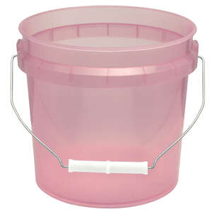 Leaktite  Red  Plastic  Bucket  1 gal.