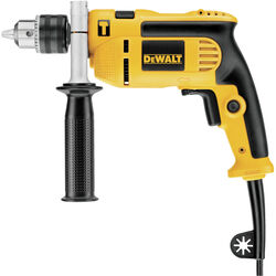 DEWALT  1/2 in. Keyed  Corded Hammer Drill  Bare Tool  7 amps 2800 rpm